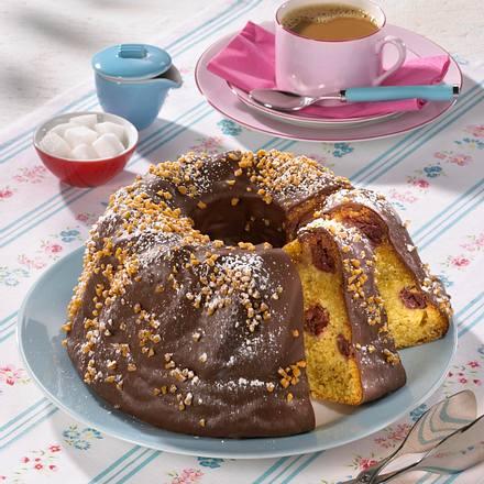 Nuss-Kirsch-Kuchen Rezept