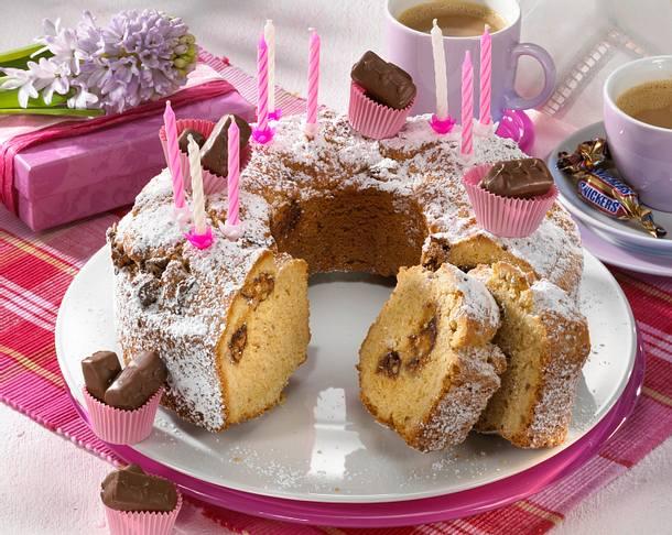 nuss kuchen mit snickers rezept chefkoch rezepte auf kochen backen und schnelle. Black Bedroom Furniture Sets. Home Design Ideas