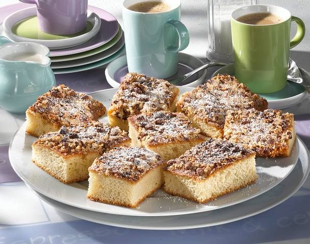 Nuss-Müsli-Kuchen Rezept