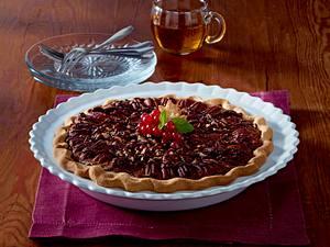 Nuss-Pie mit Ahornsirup Rezept