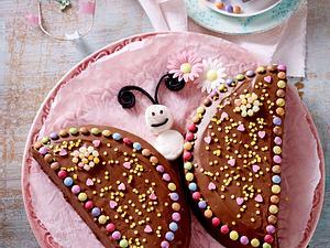 Nutella-Schmetterlings-Kuchen Rezept