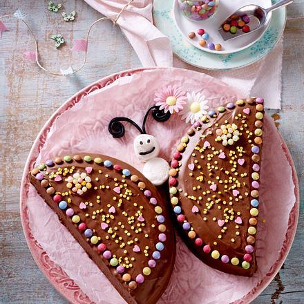 Nutella Schmetterlings Kuchen Rezept Lecker