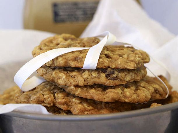 "Cookies - the American way of  ""Keks"" - oatmeal-rosinen-cookies"