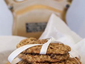 Oatmeal-Rosinen-Cookies Rezept