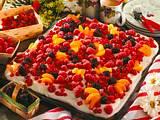 Obstkuchen mit Zitronen-Sahne Rezept