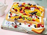 """Obstsalat- Joghurt-Kuchen """"Chilli Vanilli"""" Rezept"""