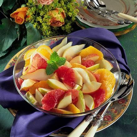 Obstsalat mit Campari-Marinade Rezept