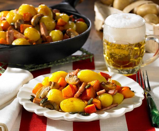 Österreichische Bratkartoffeln Rezept