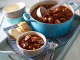 Ofen-Chili mit Chorizo Rezept