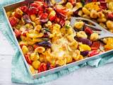 Ofen-Gnocchi mit bunten Energy-Veggies Rezept