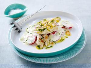 Ofen-Makrele auf scharfem Radieschensalat (Johann Lafer für tina) Rezept