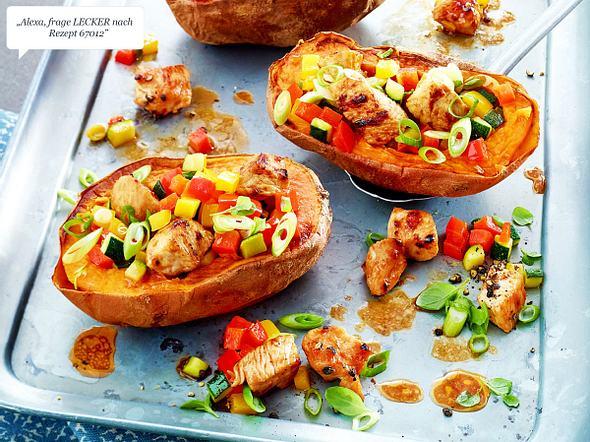 Ofen-Süßkartoffel Rezept