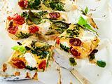Ofenfrittata mit Spinat und Ricotta-F8774501