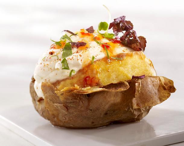 Ofenkartoffel mit Chilischmand Rezept