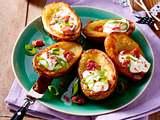 Ofenkartoffeln mit Speck und saurer Sahne Rezept