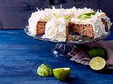 Ohne-Mehl-Torte mit Limette und Kokos Rezept