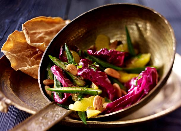 Okra-Salat mit Orangen (Ayurveda) Rezept