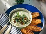 Oliven-Kräuterquark Rezept