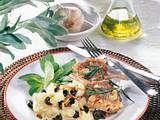 Oliven-Pinienkern-Püree zu Lammkoteletts Rezept