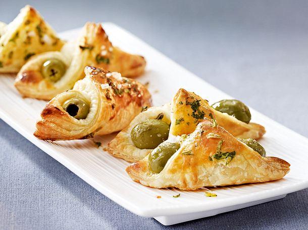 Oliventaschen mit Kräutern und Meersalz Rezept