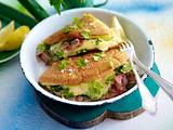 Omelett à la Cordon bleu Rezept