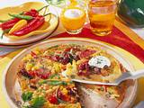 Omelett à la mexicana Rezept