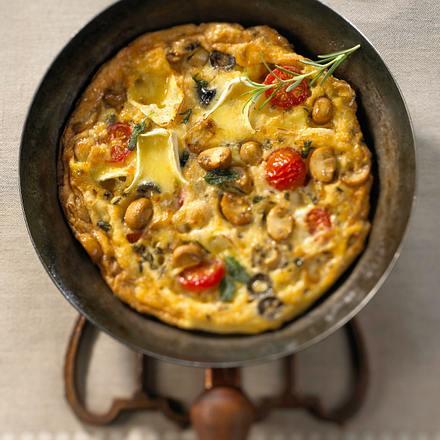 Omelett mit Käse Rezept