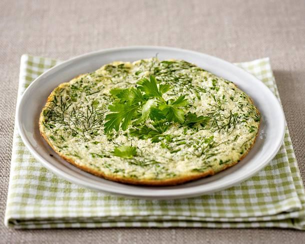 Omelett mit Kräutern Rezept
