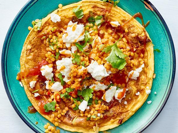 Omelett mit… Linsen-Simsalabim Rezept