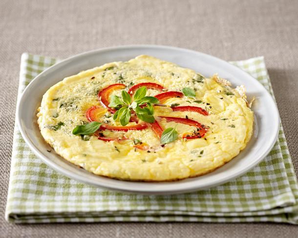Omelett mit Schinken und Gewürzgurken Rezept