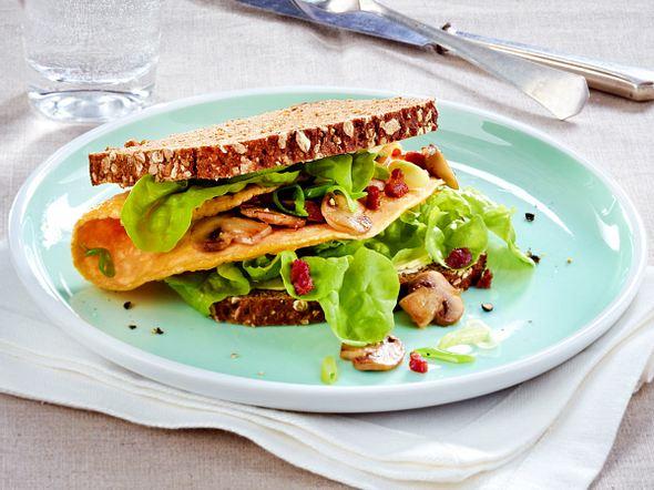 Bauern-Omelett-Sandwich Rezept