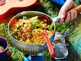 "One-Pot-Pasta ""Crunch Rock"" Rezept"