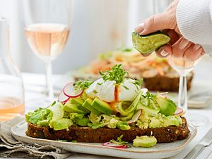 Open-Avocado-Sandwich Rezept
