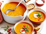 """Orange is the New Soup"" auf Linsen-Basis Rezept"