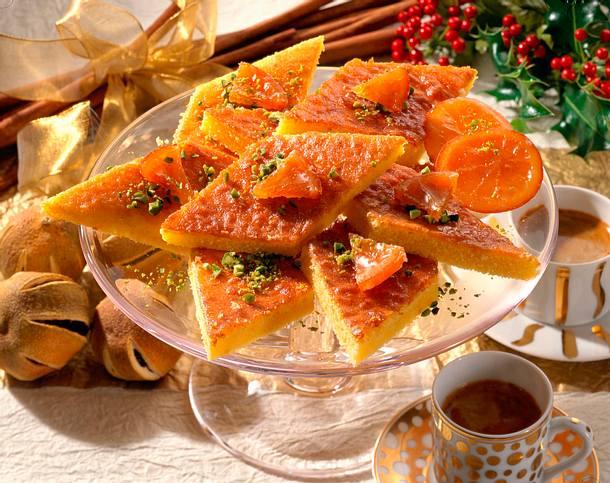 Orangen-Blechkuchen Rezept