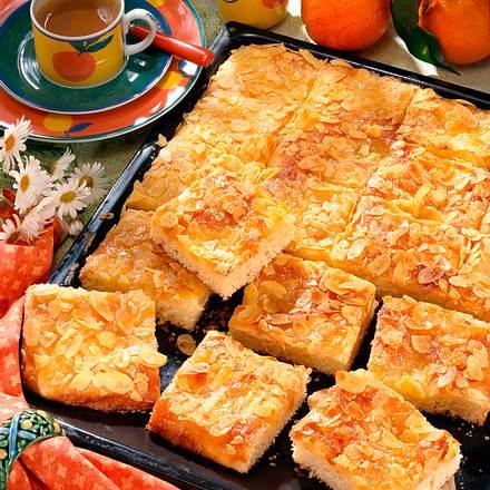 Orangen-Butterkuchen Rezept