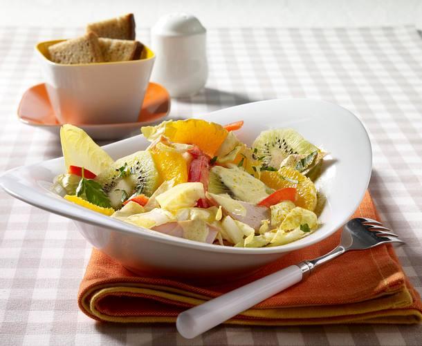 Orangen-Chicorée-Salat Rezept
