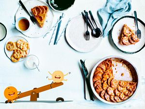 "Orangen-Cracker-Pie ""Du Heissa, ich Hoppsa"" Rezept"