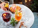 Orangen-Cranberry-Glühwein Rezept
