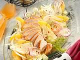 Orangen-Fenchel-Salat mit Hähnchenfilet Rezept
