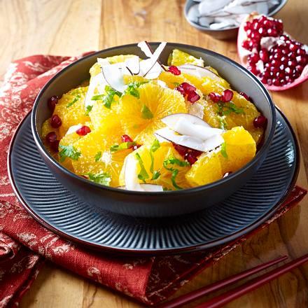orangen granatapfel salat rezept chefkoch rezepte auf kochen backen und schnelle. Black Bedroom Furniture Sets. Home Design Ideas