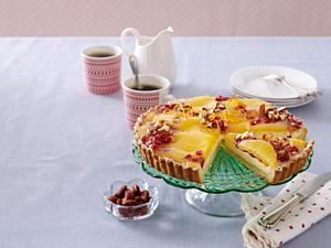 Orangen-Granatapfel-Tarte (Backschule) Rezept