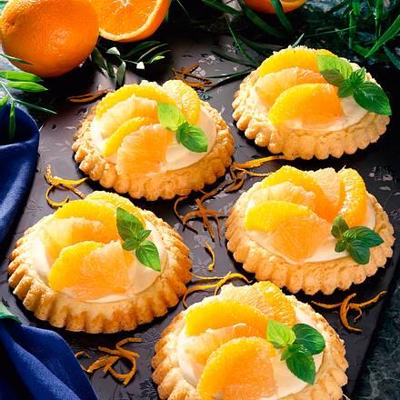 Orangen-Grapefruit-Törtchen Rezept