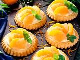 Orangen-Grapefruittörtchen Rezept