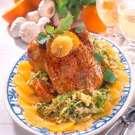 Orangen-Hähnchen Rezept