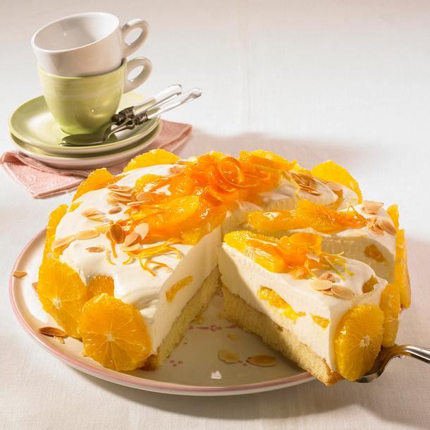 Orangen-Joghurt-Torte Rezept