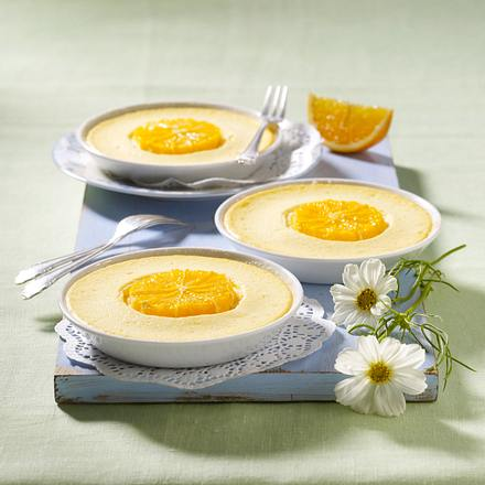 Orangen-Käsekuchen-Küchlein Rezept