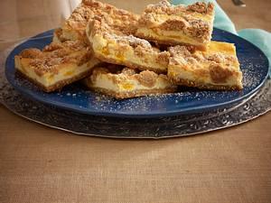 Orangen-Käsekuchen mit Zimt-Nuss-Streusel Rezept