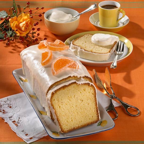 Orangen-Kastenkuchen Rezept