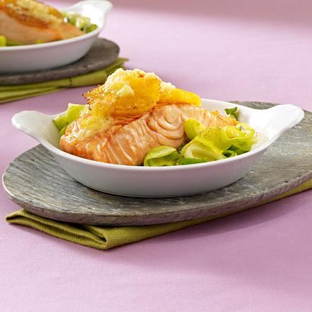 Orangen-Lachs aus dem Ofen Rezept